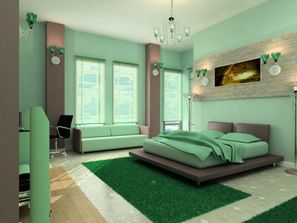 Best colors for a bedroom - large and beautiful photos. Photo to .