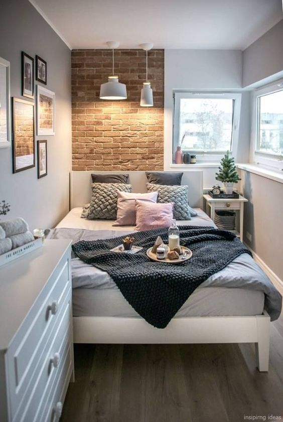 25+ Best Minimalist Small Guest Bedroom Design Ideas on a Budget .
