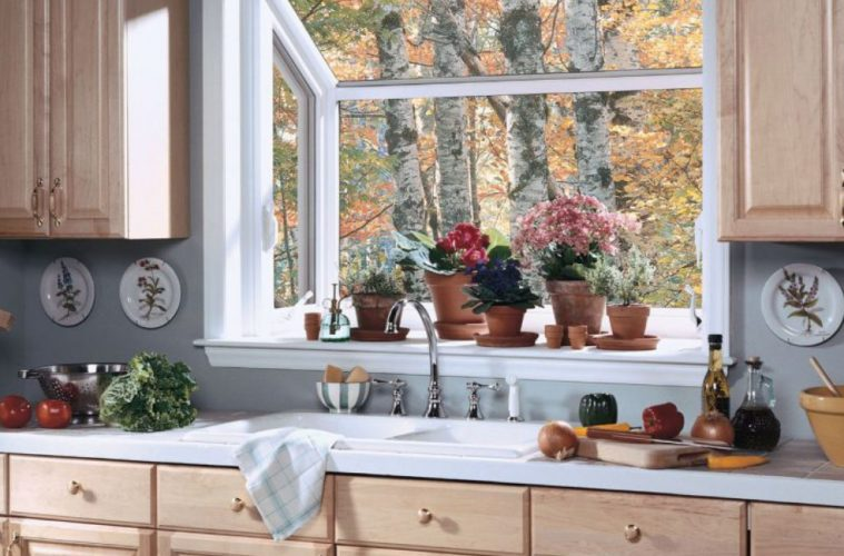 Best Design Ideas to Decorating Kitchen Window Wa