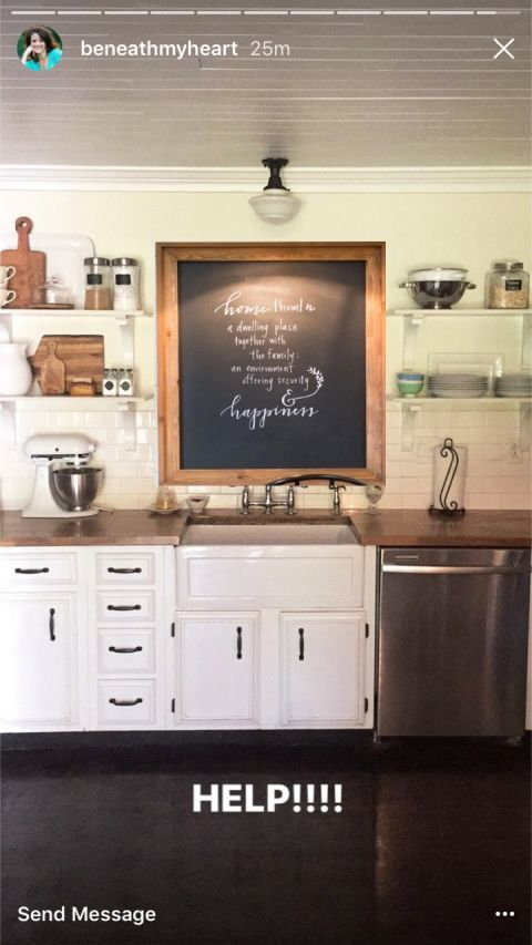 Decorating The Wall Above A Kitchen Sink With No Window | Kitchen .