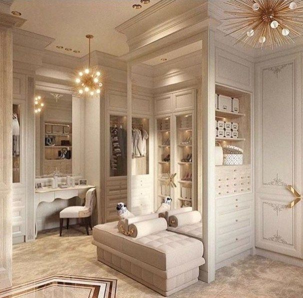 51 Best Modern Dressing Rooms For Women Style | Walk in closet .