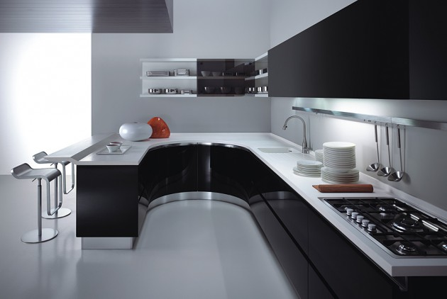 16 Timeless Black & White Kitchen Designs For Every Modern Ho