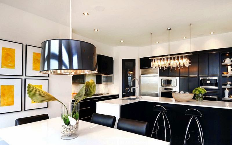 Black and White Kitchen Ideas | Home Decor Ide