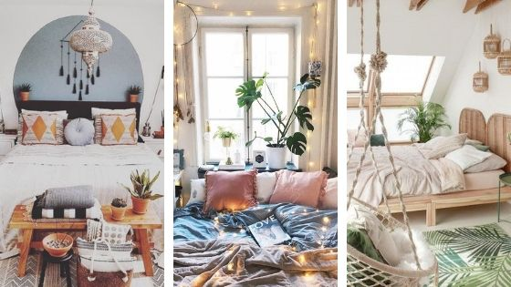 25 Cozy Bohemian Bedroom Ideas for Your First Apartment - The .