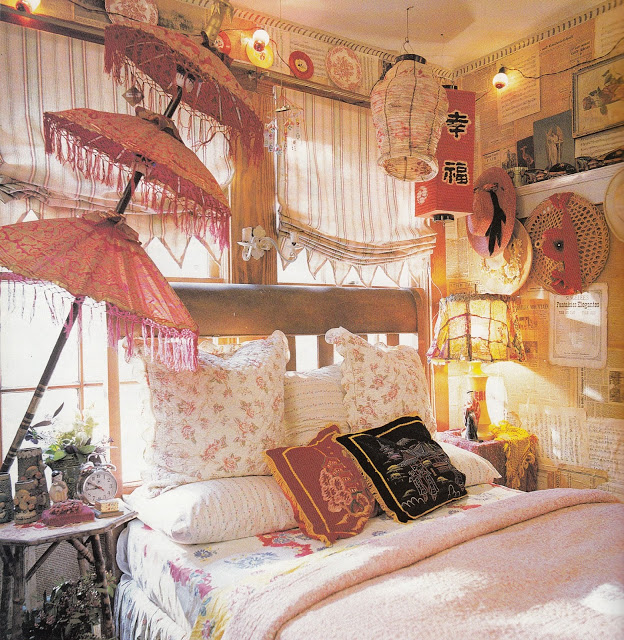 31 Bohemian Style Bedroom Interior Desi