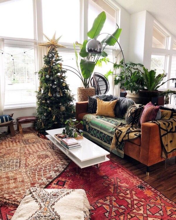 Bohemian Decorating Ideas for Living Room Making a boho chic .
