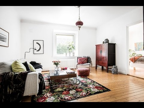 bohemian style ▸ Scandinavian apartment tour - YouTu