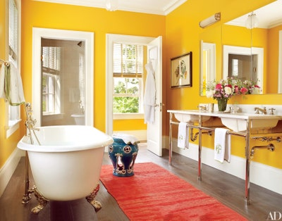20 Colorful Bathroom Design Ideas That Will Inspire You to Go Bold .
