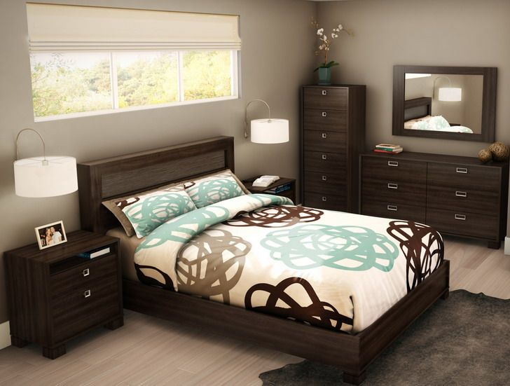 20 Gorgeous Brown Bedroom Ide