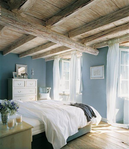 Creating a Relaxing Bedroom with Calming Color | Home bedroom .