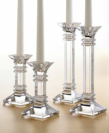 Waterford Crystal Candlesticks i love these | Crystal candlestic
