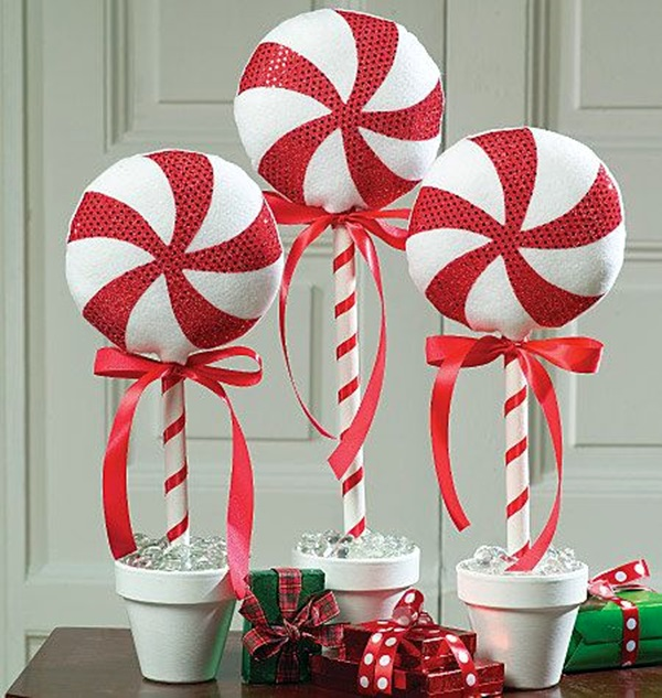 """50 Best Candy Cane Christmas Decorations which are the """"Sweetest ."""
