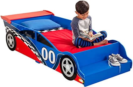 Amazon.com: Race Car Toddler Bed: Toys & Gam