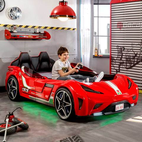 GTS Twin Race Car Bed – Cilek Kids Ro