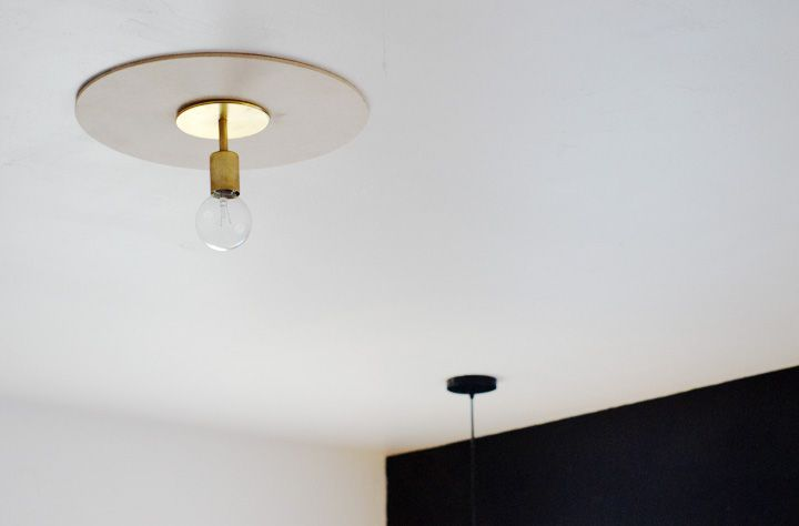 DIY: Ceiling Medallion from the Brick House | Ceiling medallions .