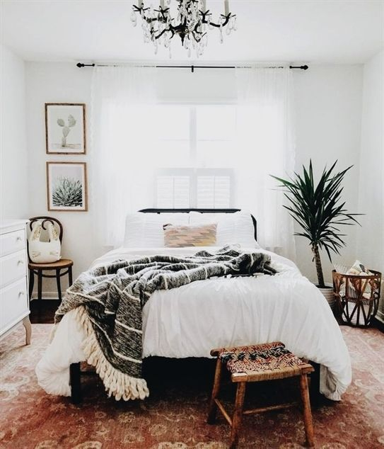 20 Best Minimalist Bedroom Design You Must Try | Airy bedroom .