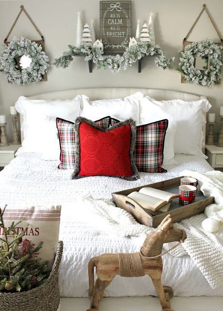 25 Christmas Bedroom Decor Ideas for a Cozy Holiday Bedroo