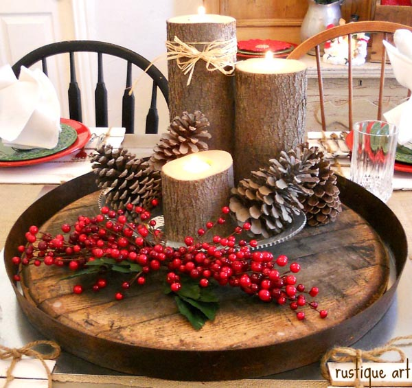 Top Christmas Candle Decorations Ideas - Christmas Celebration .