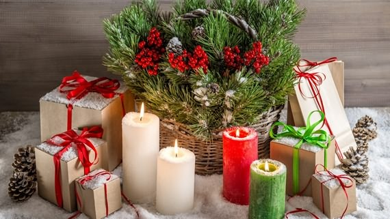 Top Christmas Candle Decoration Ideas | 4 UR Break - Family .