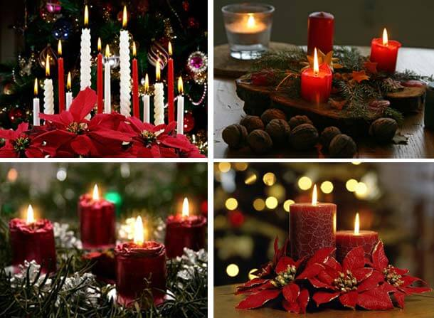 Christmas Candles Decorating Ideas-Decorating Christmas Ideas Tips .