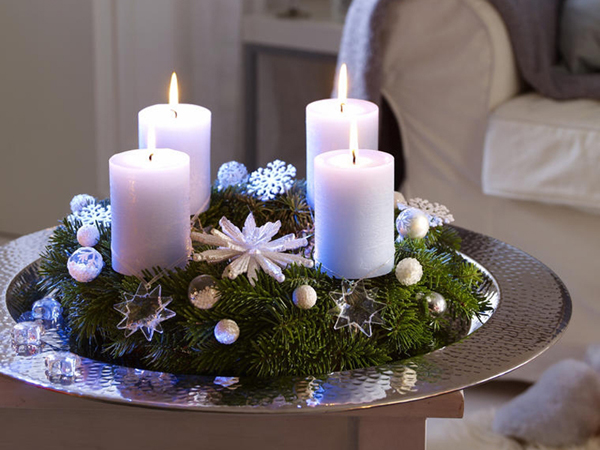 30 Christmas Candle Decoration Ideas for 20