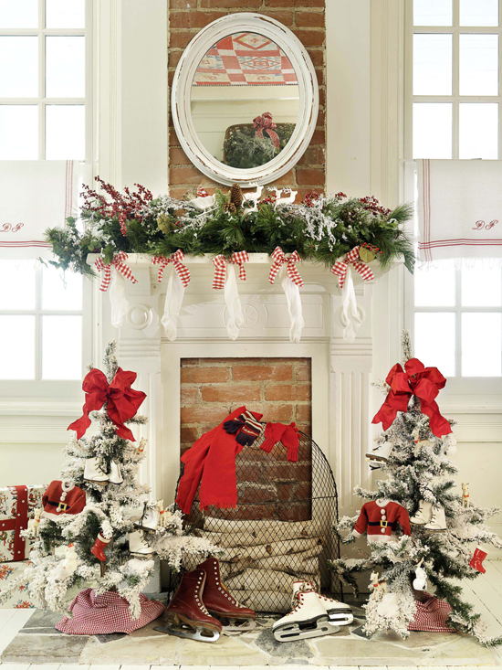 Top Christmas Mantel Decorations - Christmas Celebration - All .