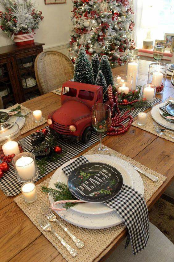 Christmas decor | Christmas kitchen decor, Farmhouse christmas .