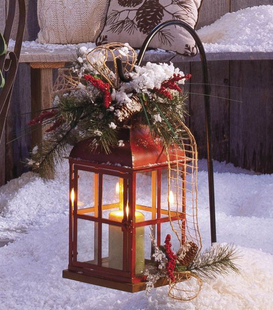 Christmas Lanterns Decoration For Indoors   And Outdoors