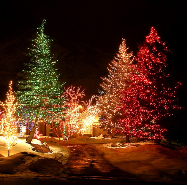 The Best 40 Outdoor Christmas Lighting Ideas That Will Leave You .