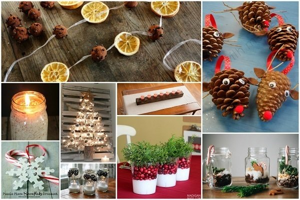 32 Homemade Eco-Friendly Christmas Decorations That Look Stunni