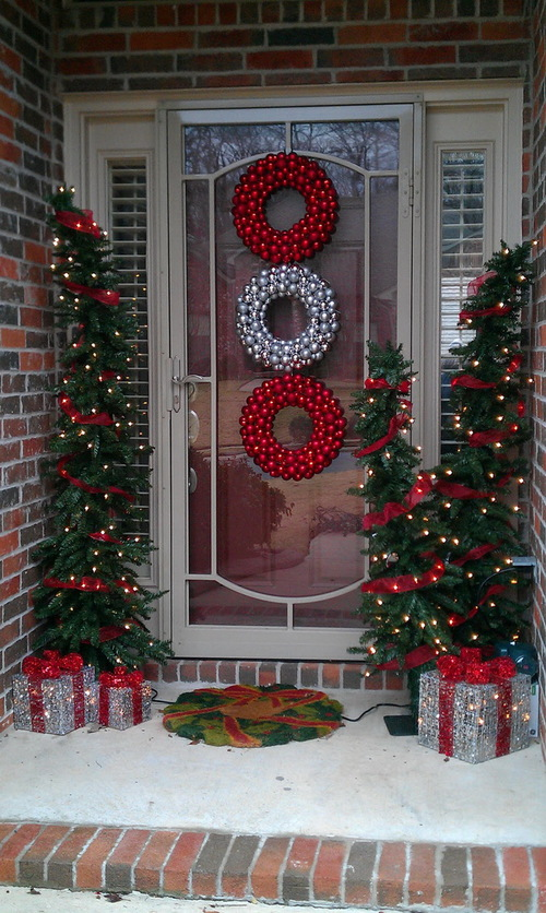 21 Christmas Porch Decoration Ideas - Best of DIY Ide