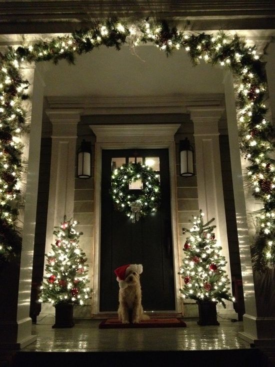 A Whole Bunch Of Christmas Porch Decorating Ideas - Christmas .