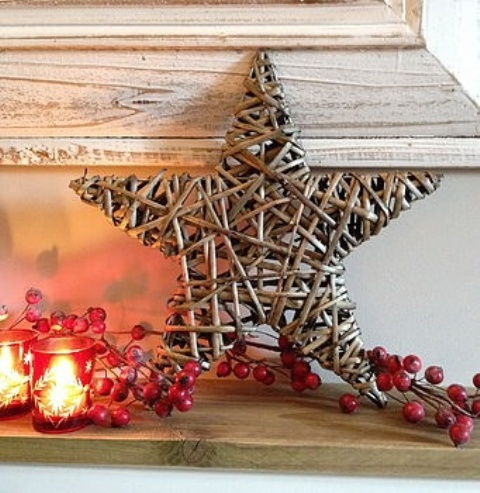 Christmas Decorating With Stars: 43 Gorgeous Ideas - DigsDi