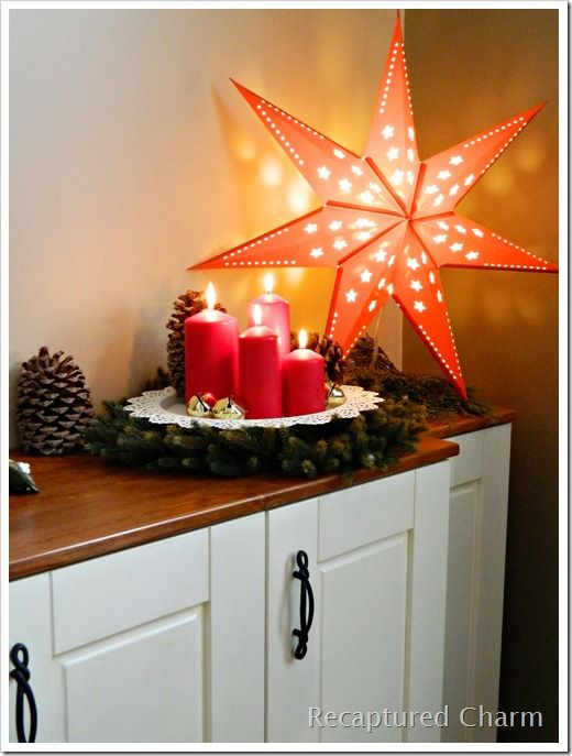Ikea Christmas Star decorating ideas | Ikea christmas, Ikea .