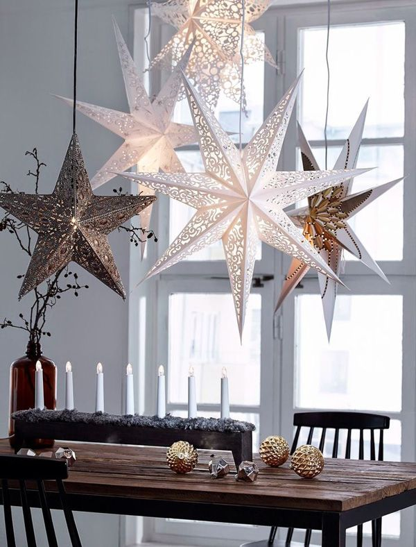 65 Christmas Home Decor Ideas | Scandinavian christmas decorations .