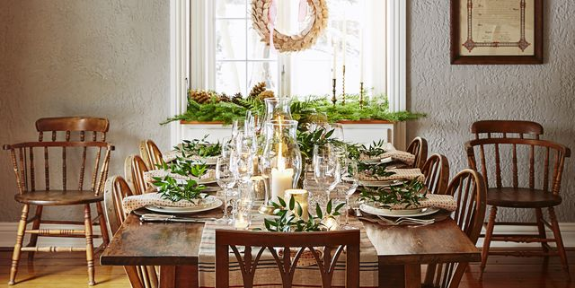 40 DIY Christmas Table Settings and Decorations - Centerpieces .