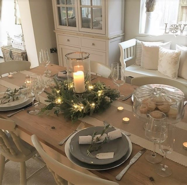 The-Home-That-Made-Me-Christmas-Table-Decoration-Ideas | Christmas .