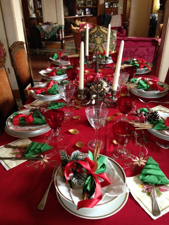 60+ Best Christmas Table Decor ideas for Christmas 2019 where .