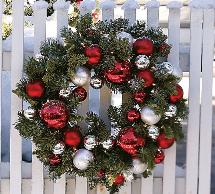 10 Ways to Decorate Evergreen Wreaths: Decoration Ideas for the .