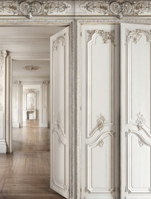 Wall Panel Design - French & Classic Styles in 2020 | Wall panel .