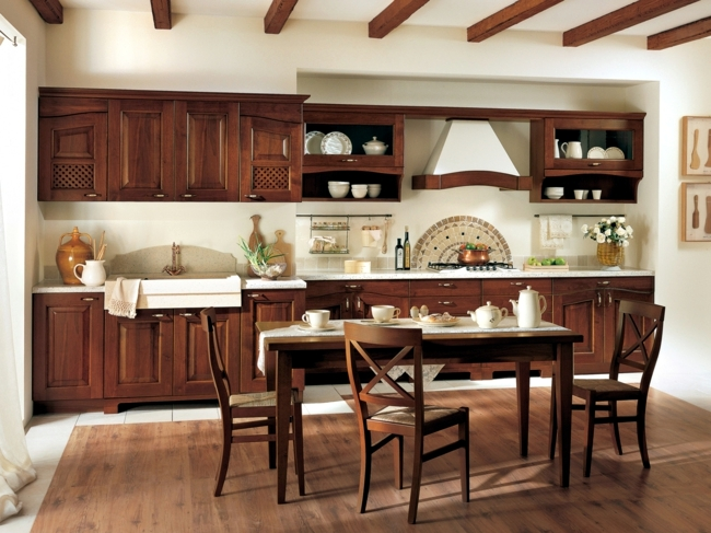 The traditional charm of the classic wooden kitchen designs -33 .