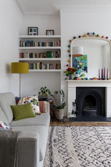 Pin by Kasia Williams on Small spaces | Victorian living room .