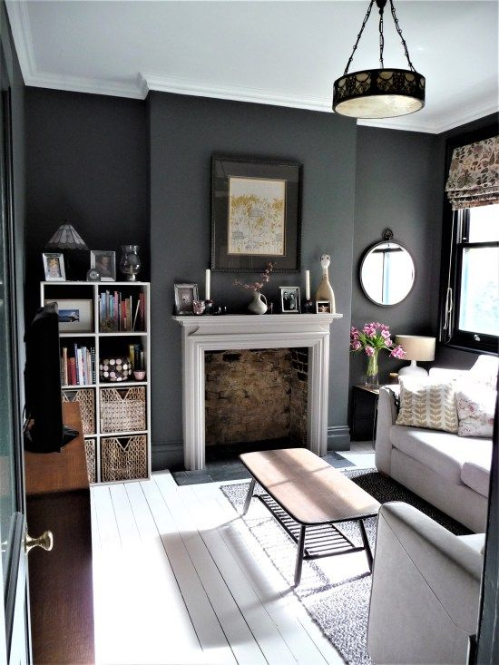 20 Remarkable and Inspiring Grey Living Room Ideas   Moody living .