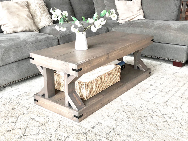 Coffee Table [Modern Farmhouse Collection] | Ana Whi