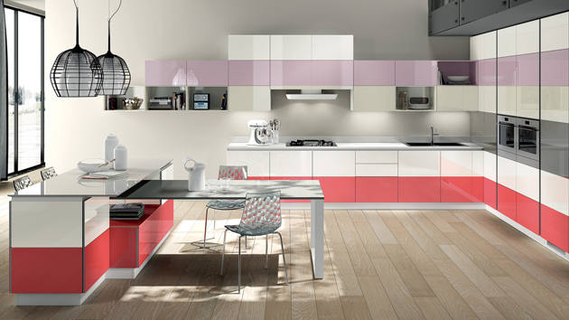 20 Modern Kitchen Color Schemes | Home Design Lov