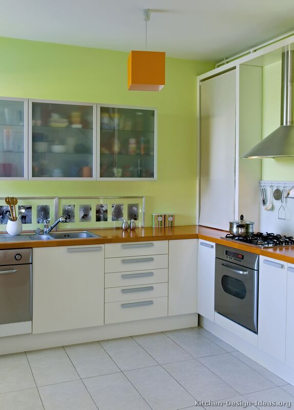 Pictures of Kitchens - Modern - White Kitchen Cabinets (Page 2 .