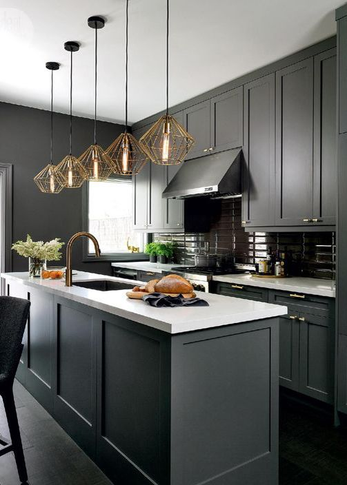 Color Schemes for Contemporary Kitchen  Design