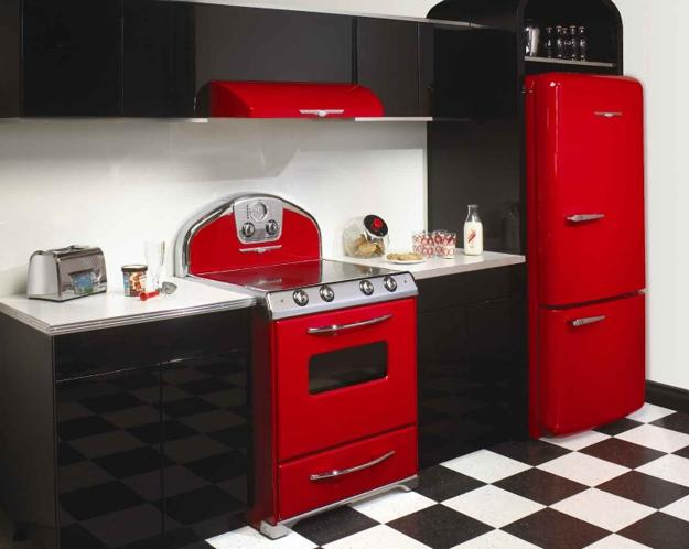25 Modern Ideas to Make Kitchen Design Dynamic and Unique with Red .