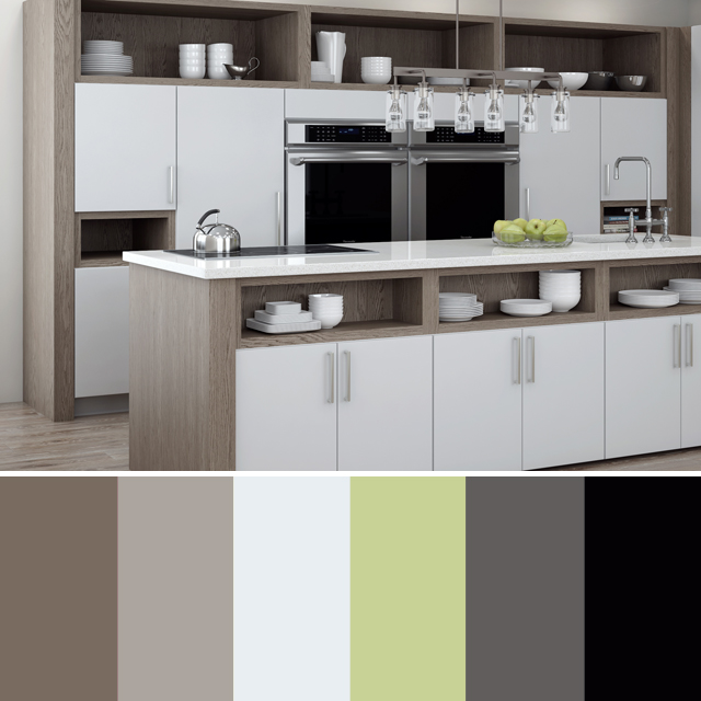 Creating a Color Scheme for your Kitchen Remodel | Dura Supreme .