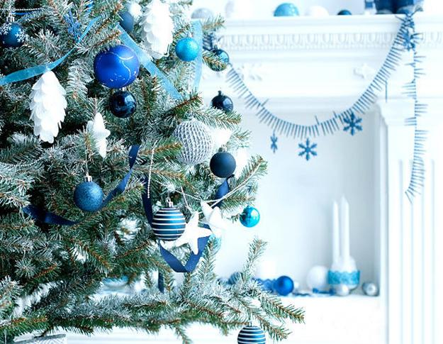 Blue and White Christmas Colors, Elegant Cool Color Combinations .
